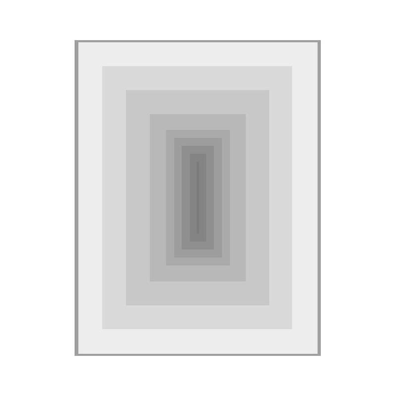 Bild 100X3X130 Methacrylat Grau