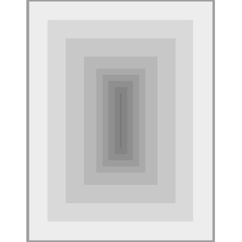 Frame 150X3X200 Methacrylate Grey