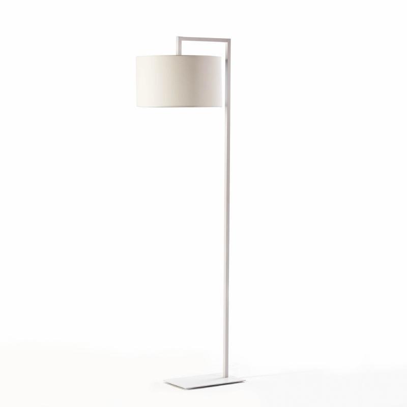 Lampada A Stelo Senza Paralume 20X35X170 Metallo Bianco - image 51230