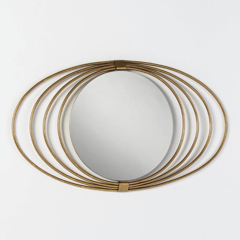 Spiegel 91X3X53 Glas/Metall Golden - image 51267