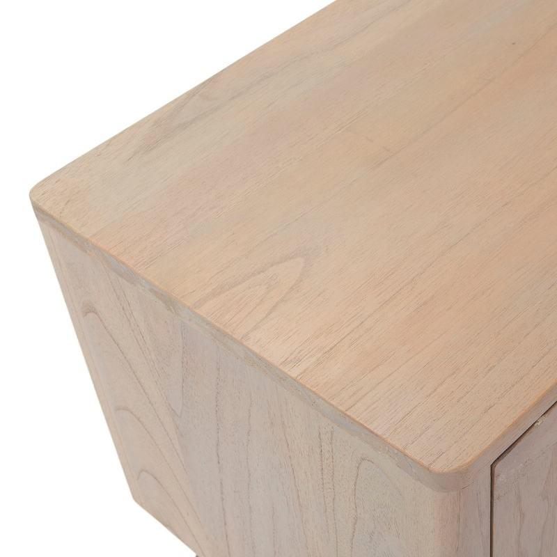 Sideboard 2 Doors 2 Drawers 199X45X66 Wood Grey - image 51293
