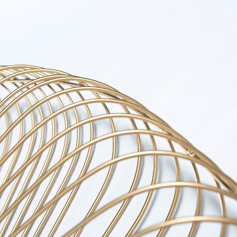 Spiegel 79X10X79 Glas/Metall Golden - image 51425