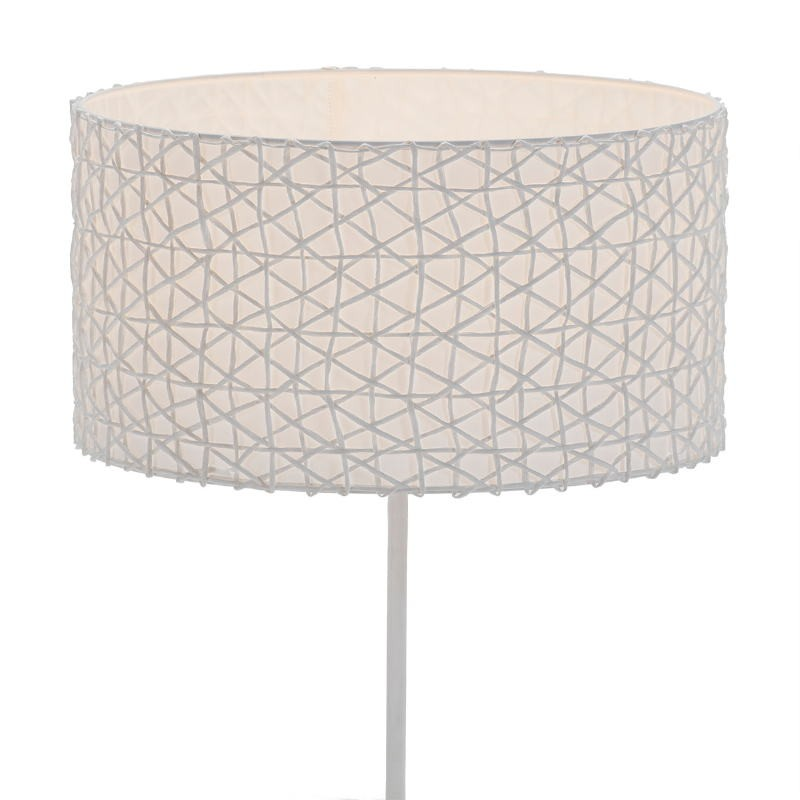 Lampshade 40X40X22 Synthetic Paper White - image 51538