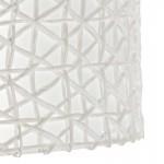Abat-jour 40x40x22 Synthétique Papier Blanc