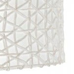 Lampshade 40X40X22 Synthetic Paper White
