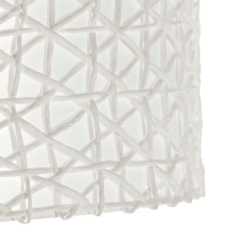 Abat-jour 40x40x22 Synthétique Papier Blanc - image 51539