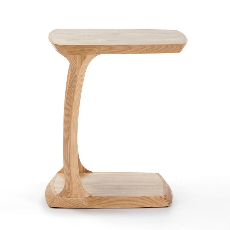 Bedside Table 50X43X59 Wood Natural - image 51823