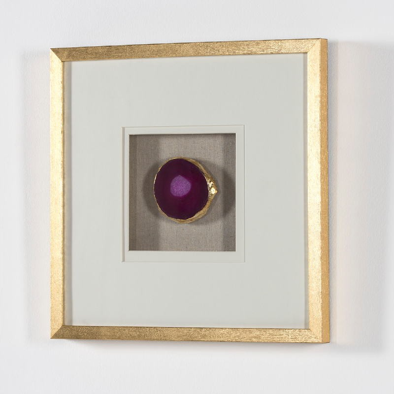 Frame 50X4X50 Wood Golden Agate Pink - image 52008