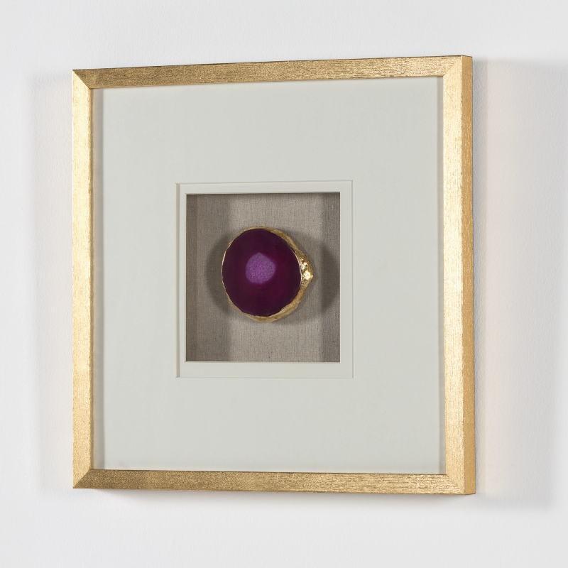 Frame 50X4X50 Wood Golden Agate Pink - image 52009