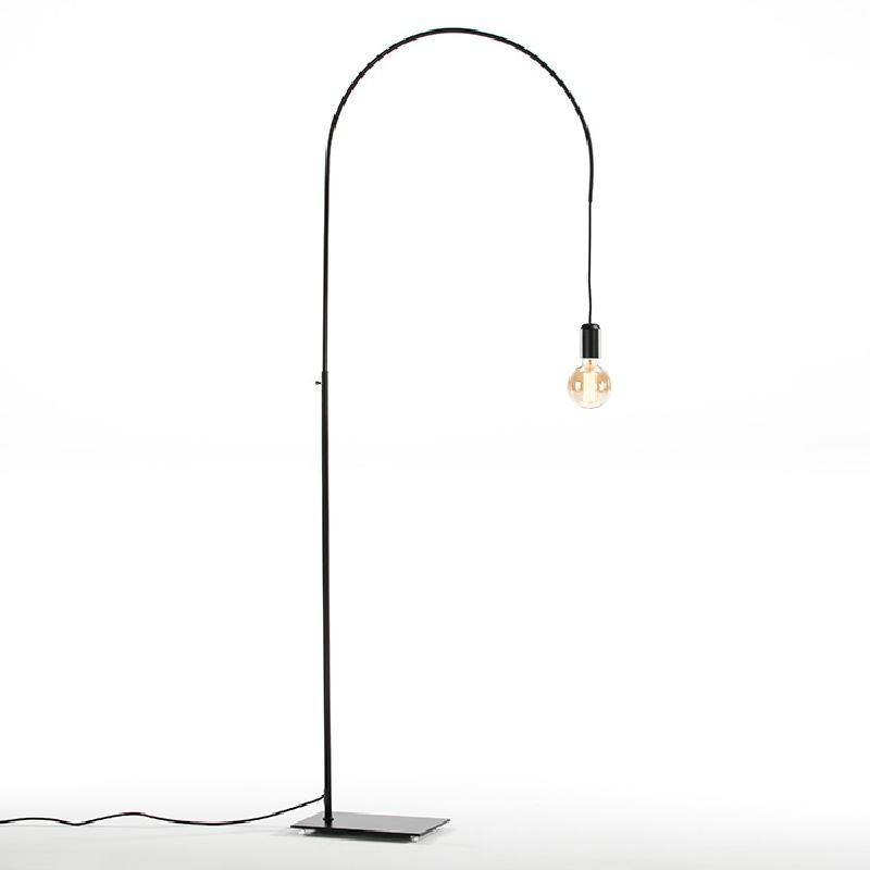 Lampada A Stelo 71X20X175 Metallo Nero - image 52415