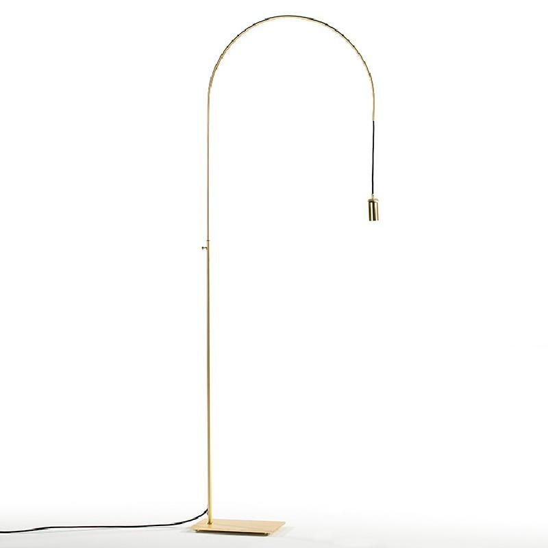 Lampada A Stelo 71X20X175 Metallo Dorato - image 52420