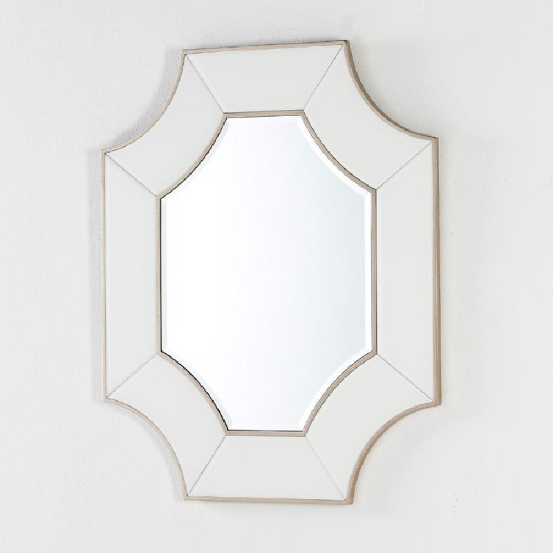 Miroir 85x3x100 Verre Transparent Blanc