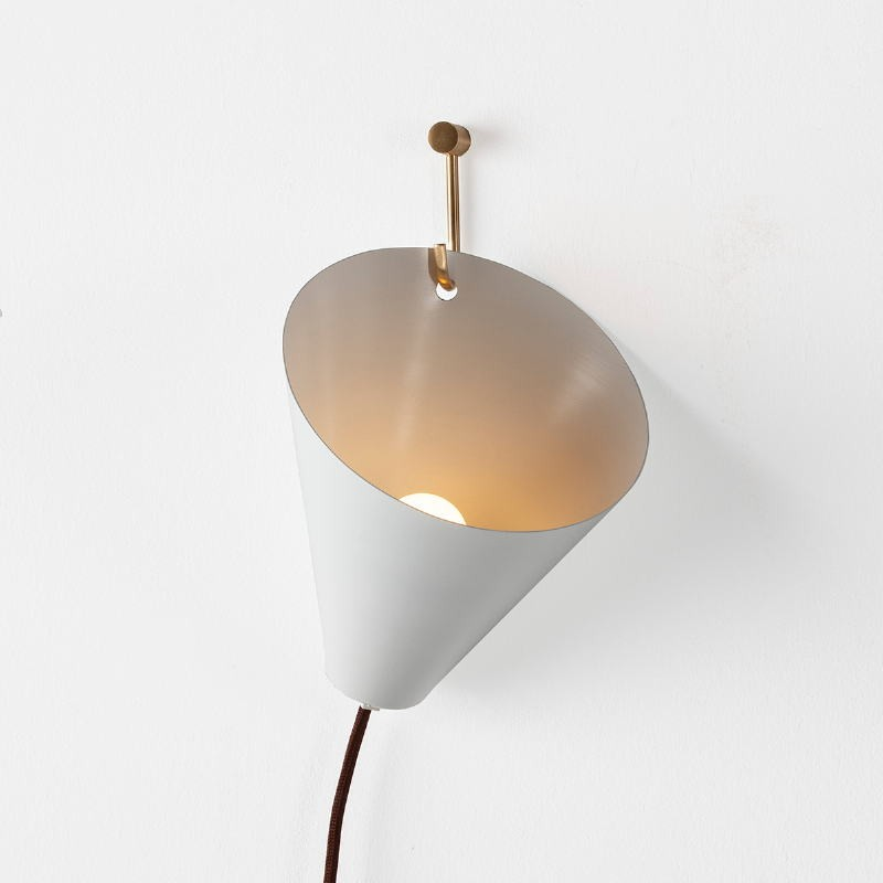 Wall Lamp 18X17X19 Metal White