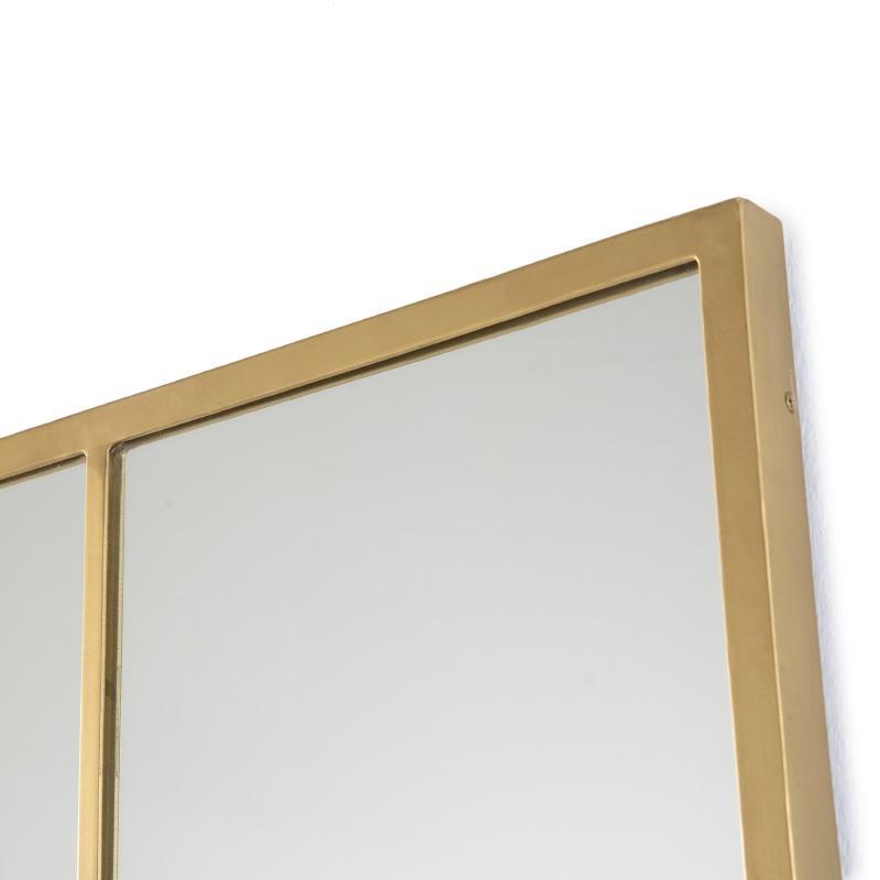 Specchio 102X3X147 Vetro Metallo Dorato - image 52776