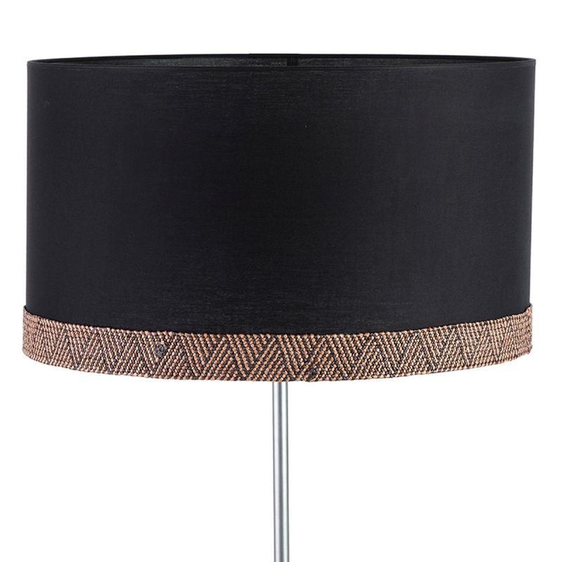 Lampshade 50X50X30 Cotton Black Brown
