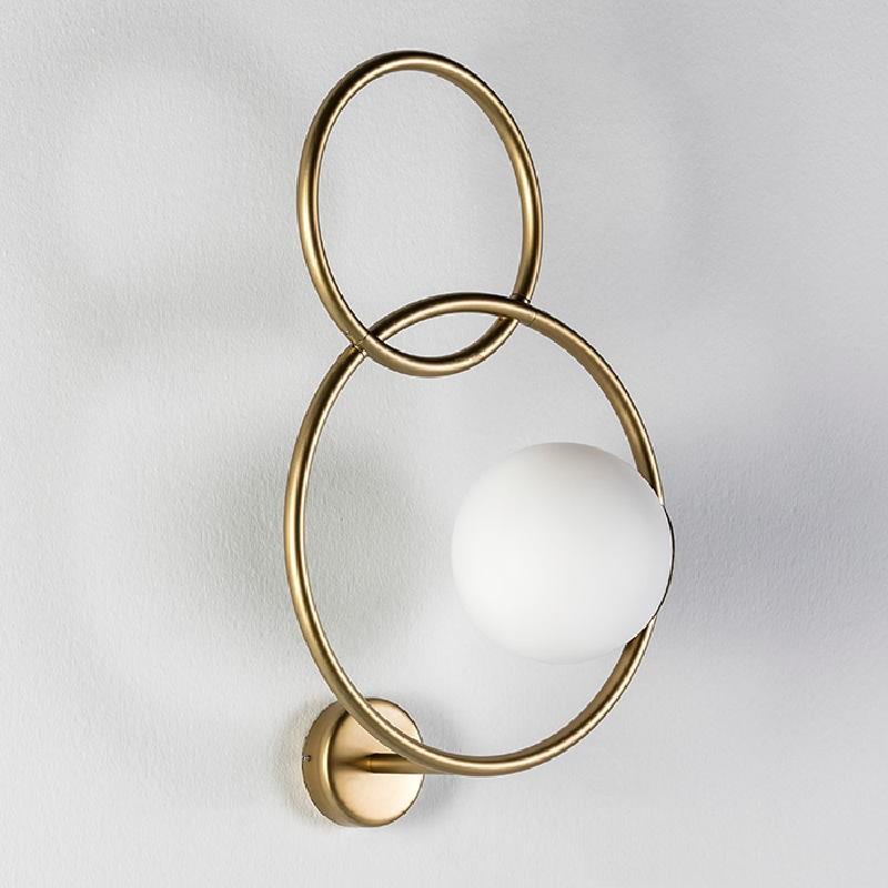 Übernehmen 33X18X55 Glas / Metall Golden - image 52950