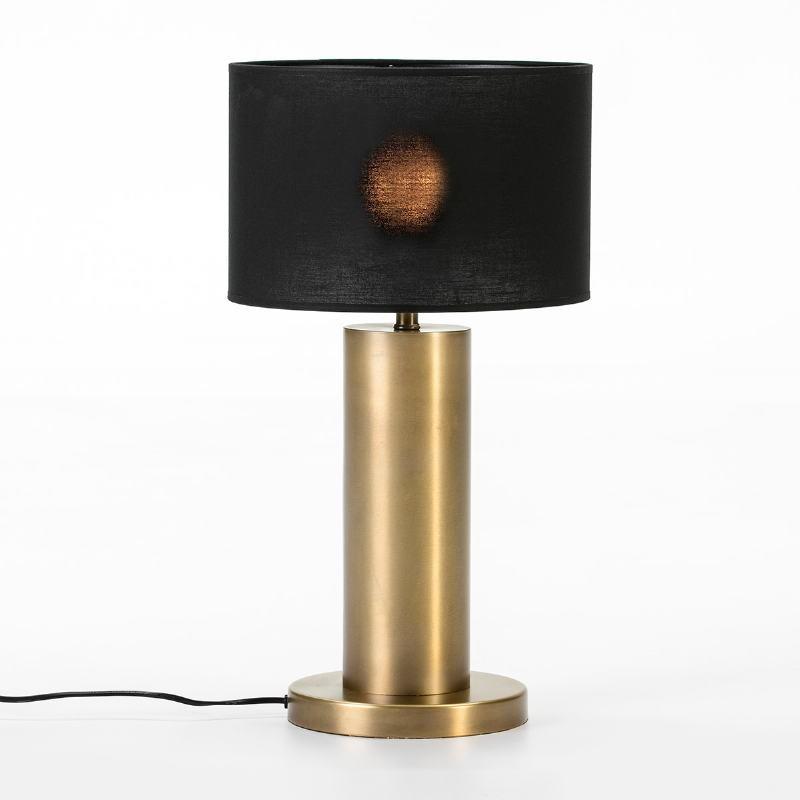Lampe Auf Tisch Ohne Bildschirm 20X20X40 Metall Golden