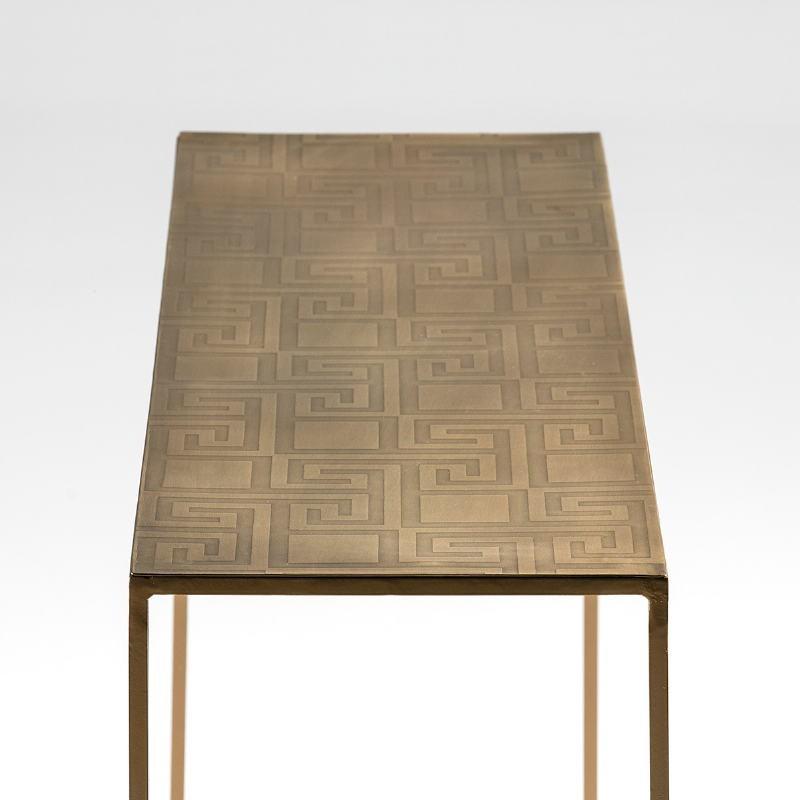 Konsole 102X30X76 Metall Golden - image 53053