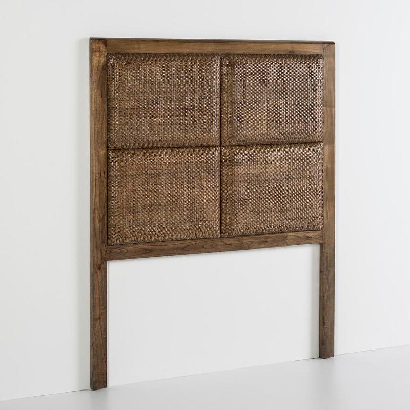 Headboard 110X9X137 Wood Natural Veiled