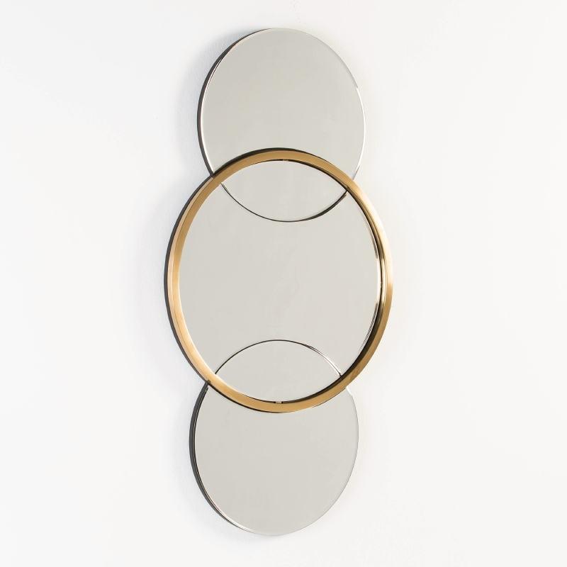 Mirror 60X4X117 Glass Metal Golden - image 53115