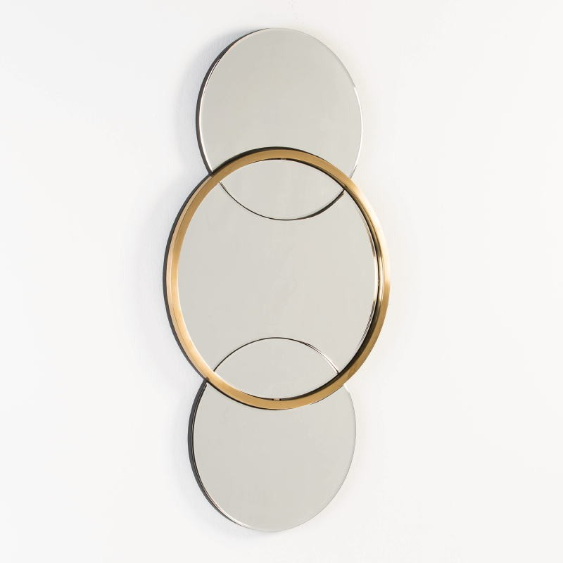 Specchio 60X4X117 Vetro Metallo Dorato - image 53115