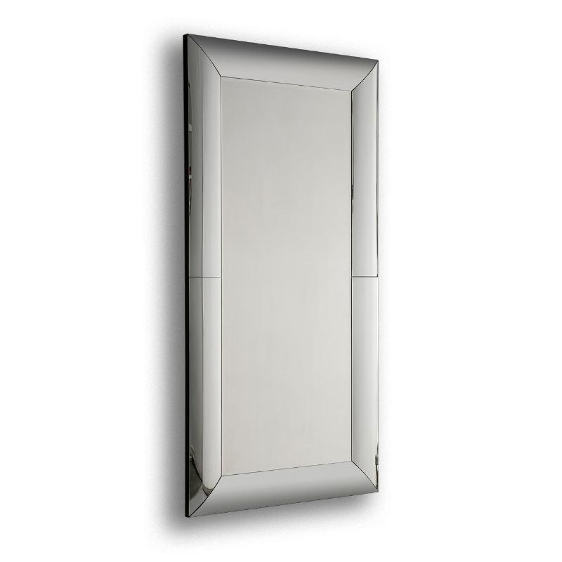 Mirror 101X5X201 Glass Mdf Black