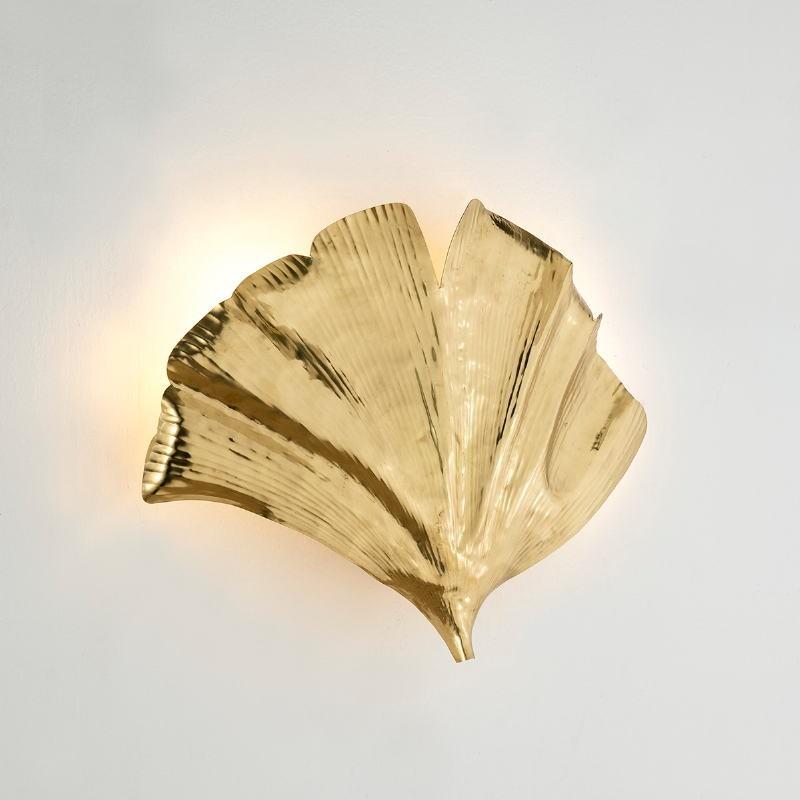 Wall Lamp 60X15X46 Metal Golden
