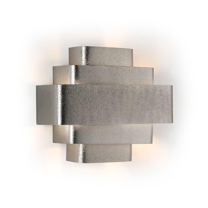Wall Lamp 38X16X29 Metal Silver