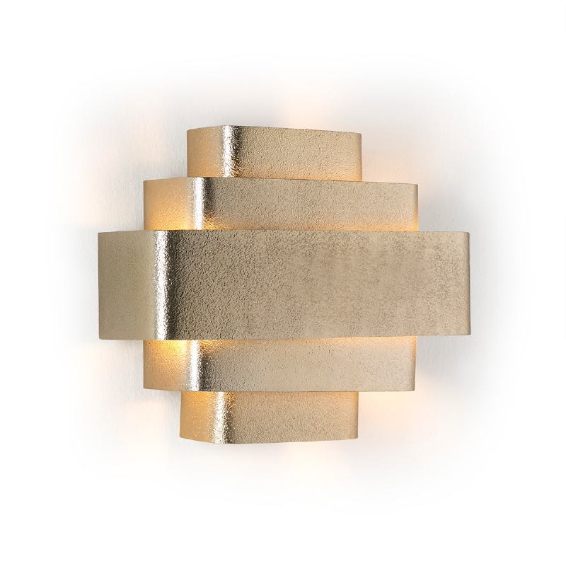 Wall Lamp 38X16X29 Metal Golden