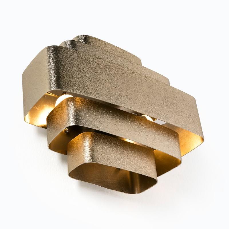 Wall Lamp 38X16X29 Metal Golden - image 53200