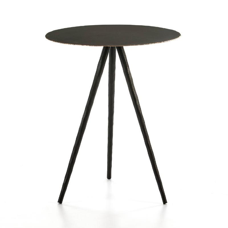 Side Table 46X46X57 Metal Black - image 53220