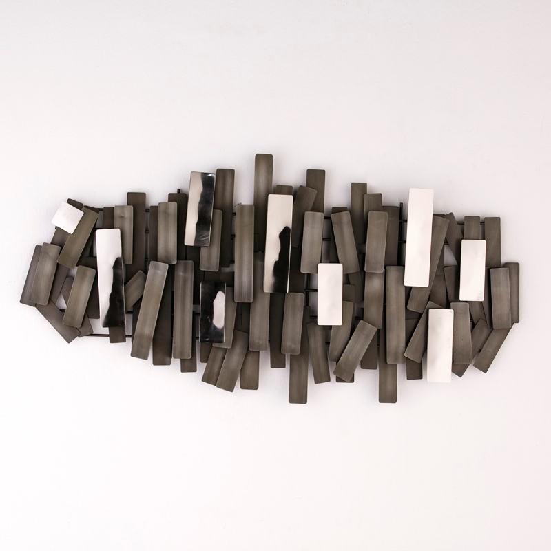 Scultura 100X5X50 Metallo Zinc