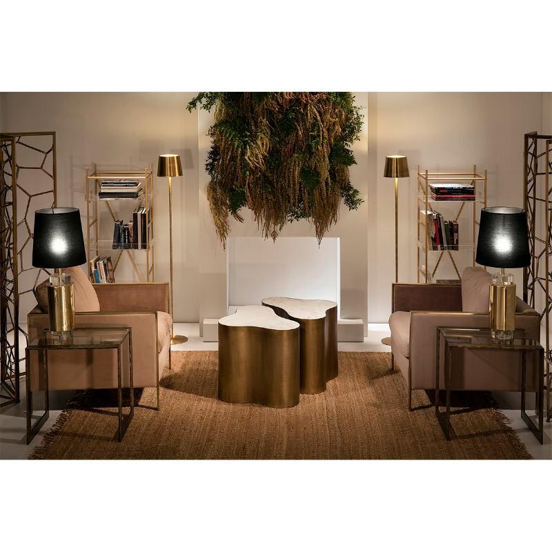 Standard Lamp 24X24X170 Metal Golden - image 53258