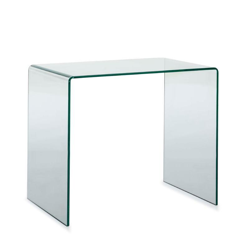 Bureau design 85x55x75 Verre Transparent