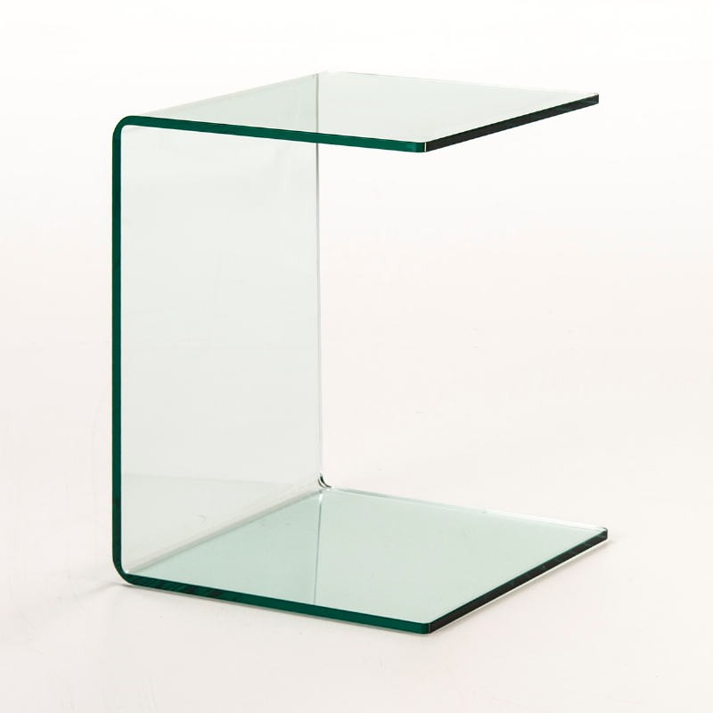 Auxiliary Table 40X40X53 Glass Transparent - image 53300