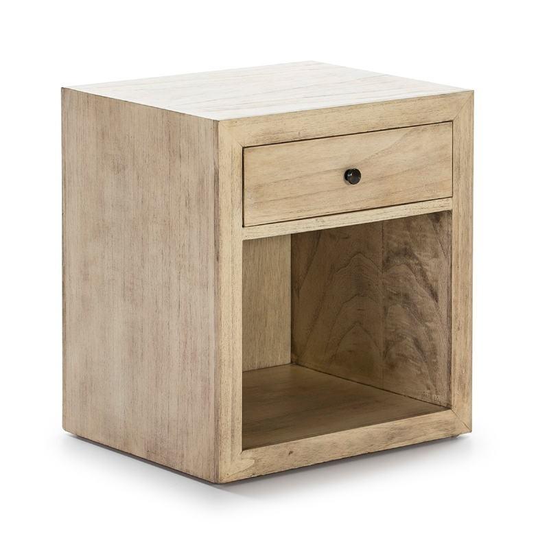 Nachttisch 50X40X55 Naturholz Modell 2