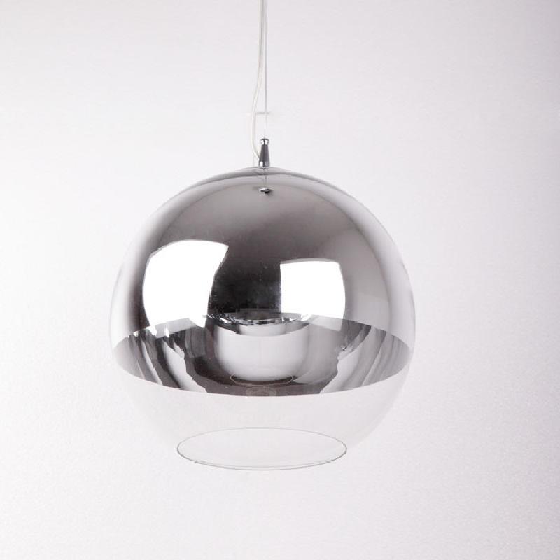 Lampada A Sospensione 30X30X175 Vetro