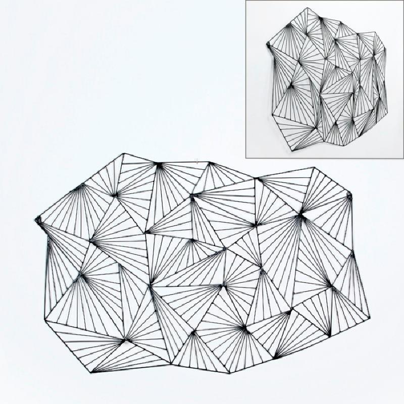 Escultura 116X9X75 Metal Negro - image 53391