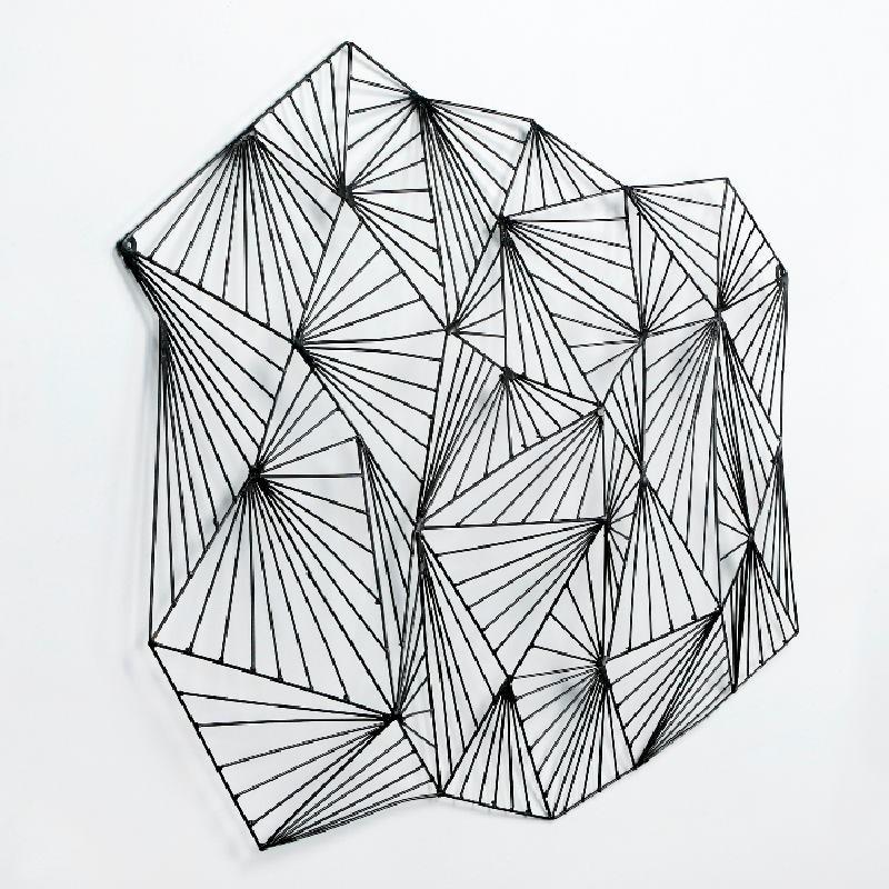 Escultura 116X9X75 Metal Negro - image 53392