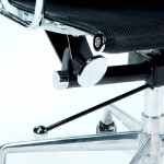 Dispatch Chair 58X64X107/115 Metall/Mesh Schwarz