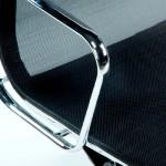 Sedie Ufficio Regolable 64X62X107 113 Metallo Rete Nero