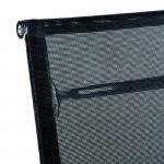 Office Adjustable Chair 64X62X107 113 Metal Mesh Black