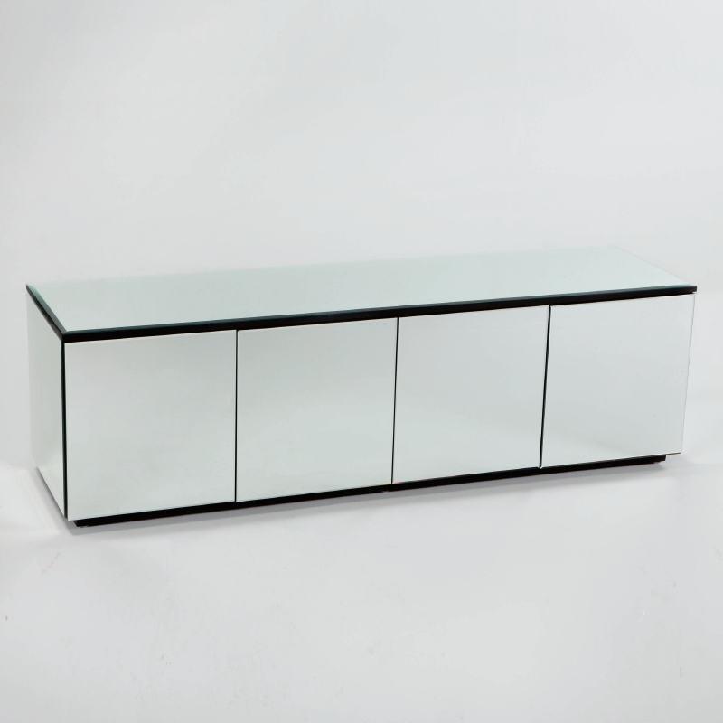 Buffet 4 portes 180x50x57 Miroir