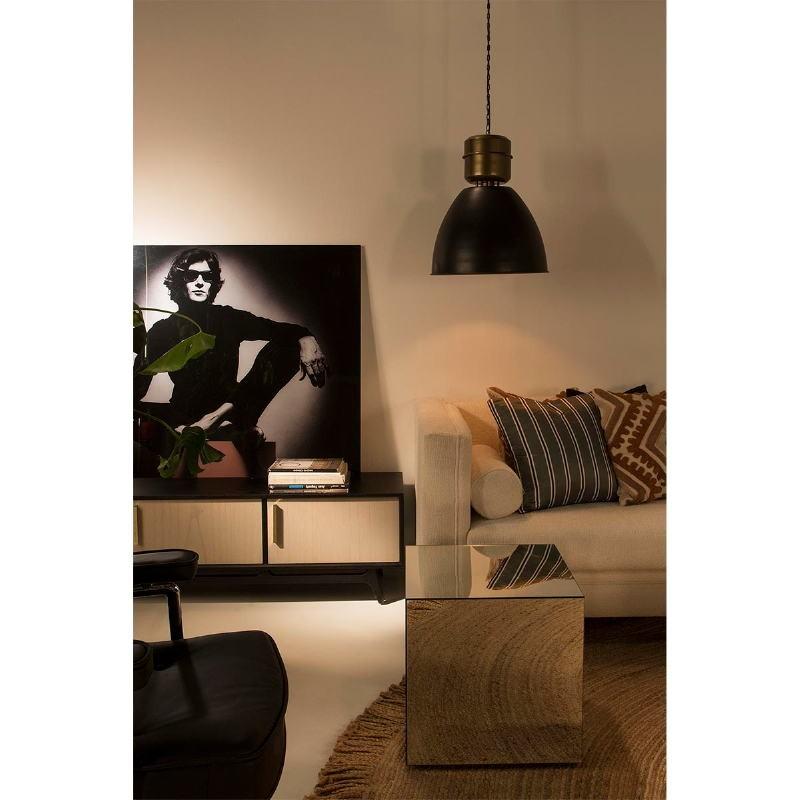 Table d'appoint, bout de canapé 45x45x45 Miroir - image 53468