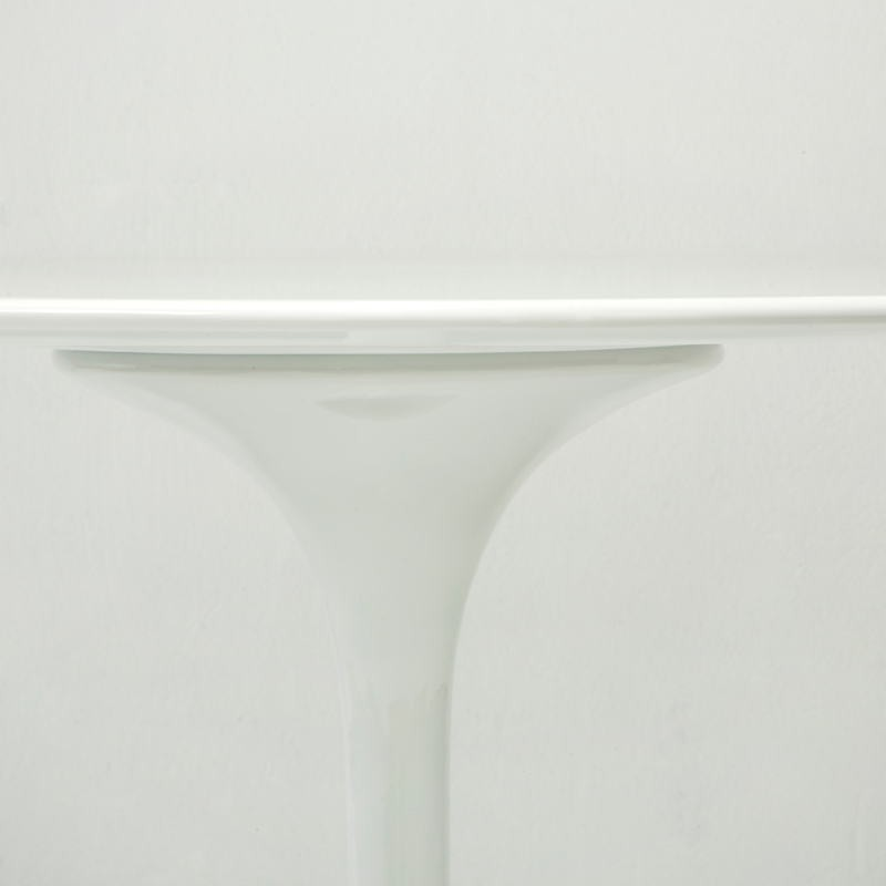 Dining Room Table 120X120X75 Fiberglass White - image 53483