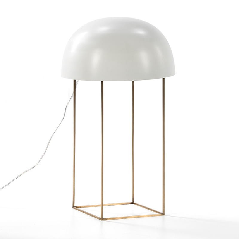 Table Lamp 20X33X70 Metal Golden White - image 53512