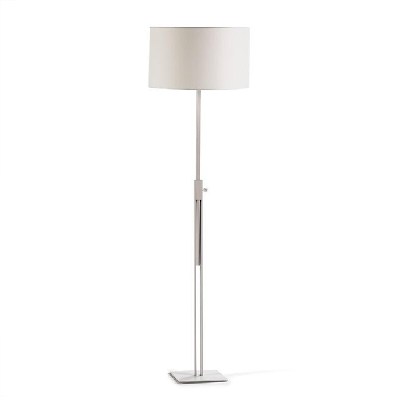 Lampada A Stelo Senza Paralume 25X25X100 200 Metallo Bianco - image 53531