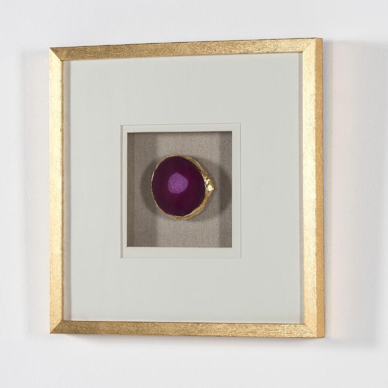 Frame 50X4X50 Wood Golden Agate Pink - image 53580