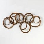 Escultura 165X14X90 Metal Oro