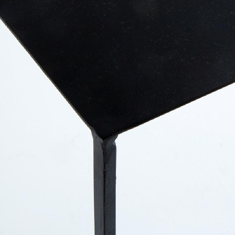 Konsole 84X33X90 Metall Schwarz - image 53645